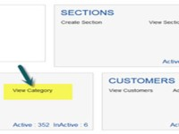Set the Category and Subcategory sequence